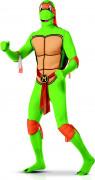 Déguisement seconde peau MichelangeloTortues Ninja™ adulte