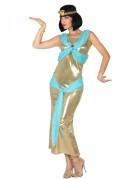 Déguisement égyptienne doré femme