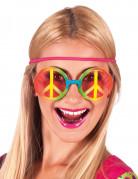 Vous aimerez aussi : Lunettes hippie arc-en-ciel adulte