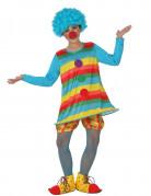 Déguisement clown à rayures fille