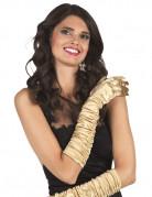 Vous aimerez aussi : Gants longs satinés dorés femme