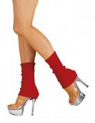 Jambières rouges femme