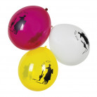 6 Ballons Western 25 cm