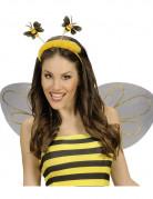 Serre-tête abeille avec fourrure adulte