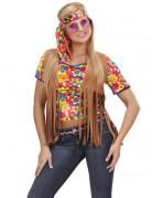 Vous aimerez aussi : Veste hippie marron à franges femme
