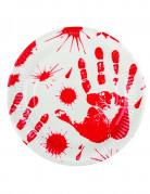 Vous aimerez aussi : 6 Assiettes mains ensanglantées 23 cm Halloween