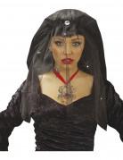 Vous aimerez aussi : Voile veuve noire avec airaignées femme Halloween