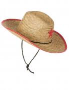 Vous aimerez aussi : Chapeau cowboy de l'ouest en paille enfant