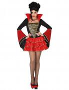Déguisement vampire à froufrous femme Halloween
