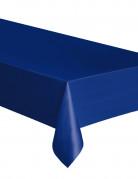 Nappe en plastique bleu marine 137 x 274 cm