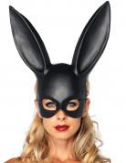 Masque lapin noir