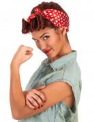 Vous aimerez aussi : Perruque rétro chatain avec foulard femme