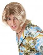 Perruque blonde surfeur homme
