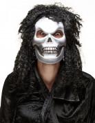 Masque crâne chevelu adulte Halloween