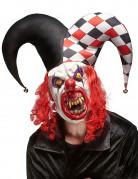 Vous aimerez aussi : Masque latex joker terrifiant adulte Halloween