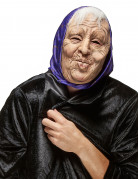 Masque latex vielle dame adulte