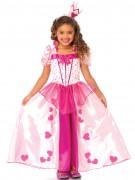 Déguisement princesse blanche et rose fille