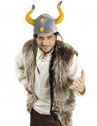 Gilet peluche viking adulte