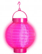 Lanterne lumineuse rose 15 cm