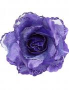 Rose violette pour cheveux femme