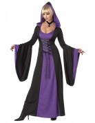 Déguisement Robe à Capuche Violette pour femme