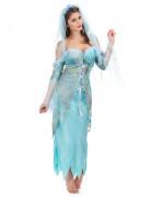 Déguisement sirène turquoise femme