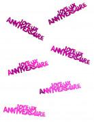 Vous aimerez aussi : Confettis Joyeux anniversaire fuchsia