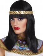 Vous aimerez aussi : Perruque noire mi-longue avec bandeau reine du nil femme