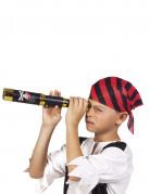 Longue vue de pirate noir 32 cm enfant