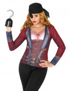 T-shirt pirate femme