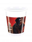 8 Gobelets en plastique Star Wars VII ™