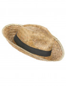 Chapeau Panama en paille adulte