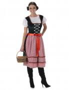 Déguisement Bavaroise robe longue femme