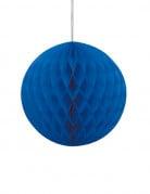 Vous aimerez aussi : Boule papier alvéolé bleu 20 cm