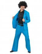 Déguisement disco bleu adulte