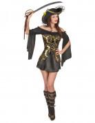 Vous aimerez aussi : Déguisement Pirate noir et doré femme
