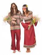 Vous aimerez aussi : Déguisement de couple hippie bordeaux adultes