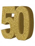 Vous aimerez aussi : Décoration de table 50 ans dorée 20 x 20 cm