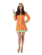 Déguisement disco hippie femme