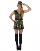 Déguisement soldat femme
