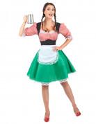 Déguisement bavaroise colorée femme