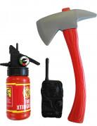 Kit Pompier enfant en plastique