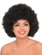 Perruque afro noire femme