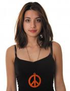 Vous aimerez aussi : Collier pendentif peace orange fluo adulte