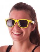 Lunettes blues fluo jaune adulte