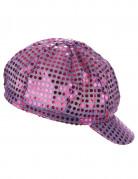 Vous aimerez aussi : Casquette disco à sequins violette adulte