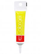 Tube de colorant alimentaire jaune