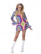 Vous aimerez aussi : Déguisement robe hippie psychédélique femme
