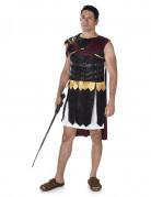 Déguisement gladiateur Romain noire et doré homme