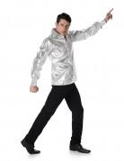Vous aimerez aussi : Chemise disco brillante argent homme